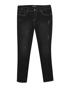 Black Just In Time Jeans by Blue Faith