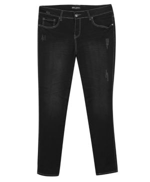 Black Just In Time Jeans