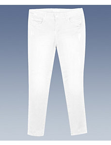 White Just In Time Jeans by Blue Faith