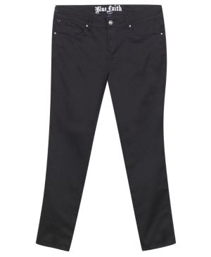 Black Rhinestone Jeans
