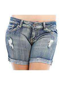 Destroyed Denim Shorts by Free Culture
