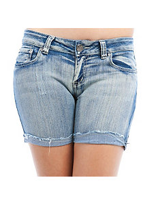 Light Denim Shorts by Free Culture
