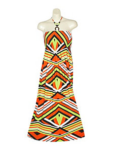 Stripe It Rich Maxi Dress by Gabby