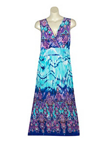 Purple Palace Maxi Dress by Gabby