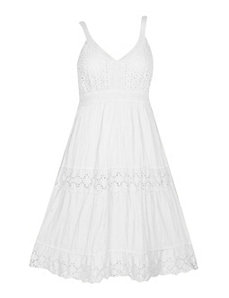 Eyelet Maxi Dress by Gabby