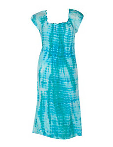 Tiered Tie Dye Maxi Dress by Gabby