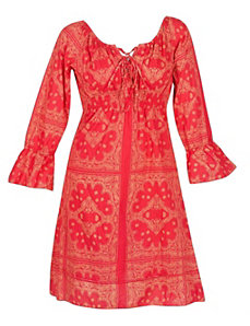 Red Revival Dress by Blue Plate