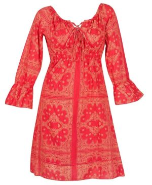 Red Revival Dress