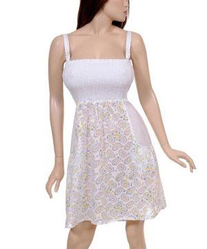 Bright White Dress