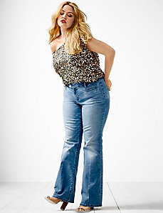 Genius Fit™ flare jean