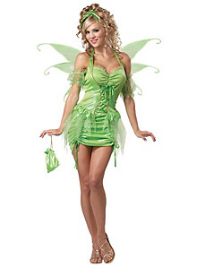 Tinkerbell Adult Plus Costume by California Costumes