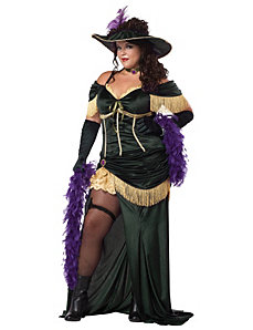 The Saloon Madame Adult Plus Costume by California Costume