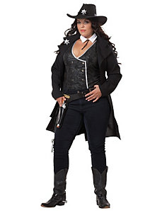 Round 'em Up Adult Plus Costume by California Costumes