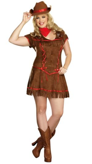 Giddy Up Adult Plus Costume