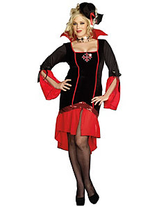 Vamps Like Us Adult Plus Adult Costume by Dreamgirl