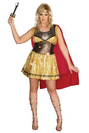 Golden Warrior Costume