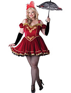 Circus Cutie Adult Plus Costume by In Character Costumes