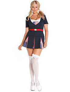 American Princess Adult Plus Costume by Elegant Moments