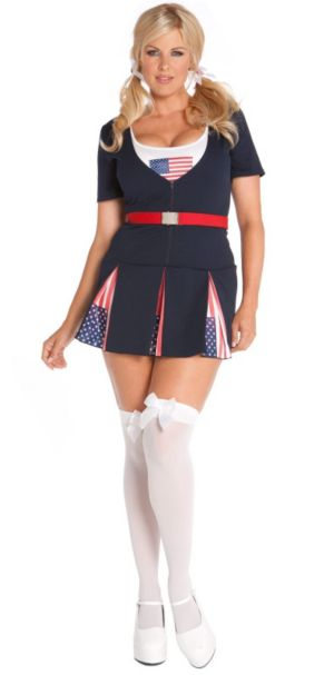 American Princess Adult Plus Costume