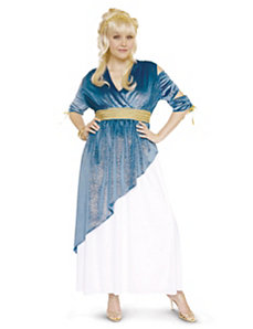 Athena Adult Plus Costume by Paper Magic