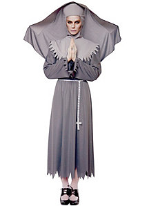 Sister Spirit Nun Adult Plus Costume by Paper Magic.