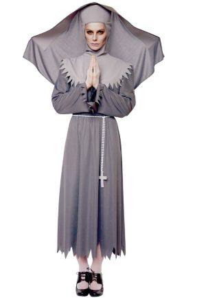 Sister Spirit Nun Adult Plus Costume