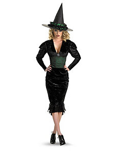 Bygone Witch Adult Plus Costume by Disguise