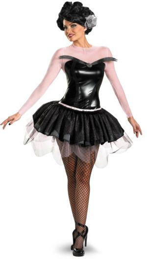 Swan of Death Adult Plus Costume