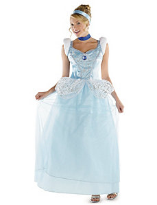 Cinderella Deluxe Adult Plus Costume by Disguise