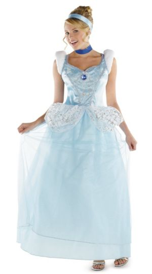 Cinderella Deluxe Adult Plus Costume