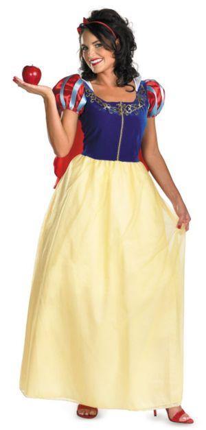 Snow White Deluxe Adult Plus Costume