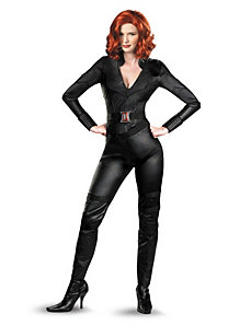 The Avengers Black Widow Adult Plus Costume by Disguise