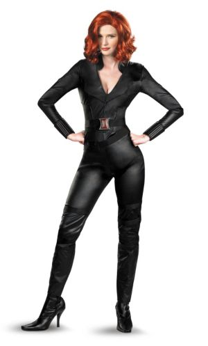 The Avengers Black Widow Costume
