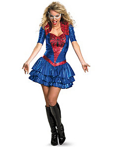 Spider - Girl Sexy Deluxe Plus Adult Costume by Disguise