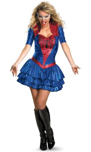 Spider - Girl Sexy Deluxe Costume