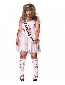 Putrid Prom Queen Adult Plus Costume by Leg Avenue