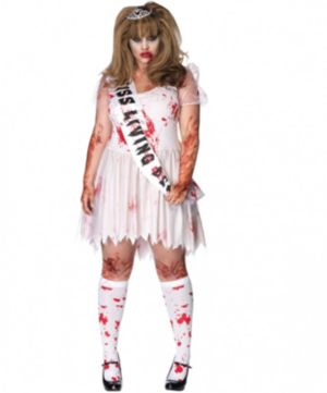 Putrid Prom Queen Costume
