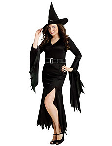 Gothic Witch Adult Plus Costume by Fun World