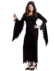 Hooded Gown Adult Plus Costume by Fun World