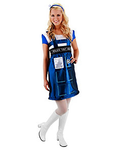 Dr. Who Tardis Dress by Elope