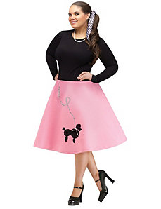Poodle Skirt by Fun World