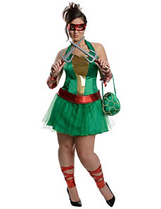 Teenage Mutant Ninja Turtles Raphael Dress by Rubies Costumes