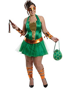 Teenage Mutant NinjaTurtles Michelangelo Dress by Rubies Costumes