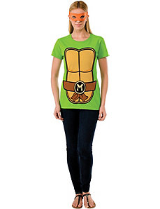 Teenage Mutant Ninja Turtles Michelangelo T-Shirt by Rubies Costumes
