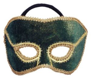 Mardi Gras Couples Mask