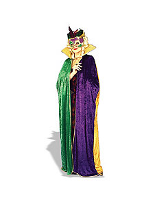 Mardi Gras Cape Adult by Forum Novelties Inc