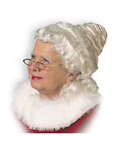 Mrs. Claus Wig Adult by Halco