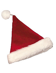 Velvet Santa Hat Burgundy by Halco