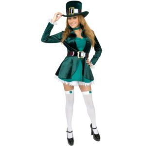 Sexy Leprechaun with Hat Costume