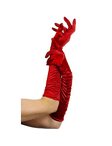 Temptress Long Red Gloves by Smiffy's USA